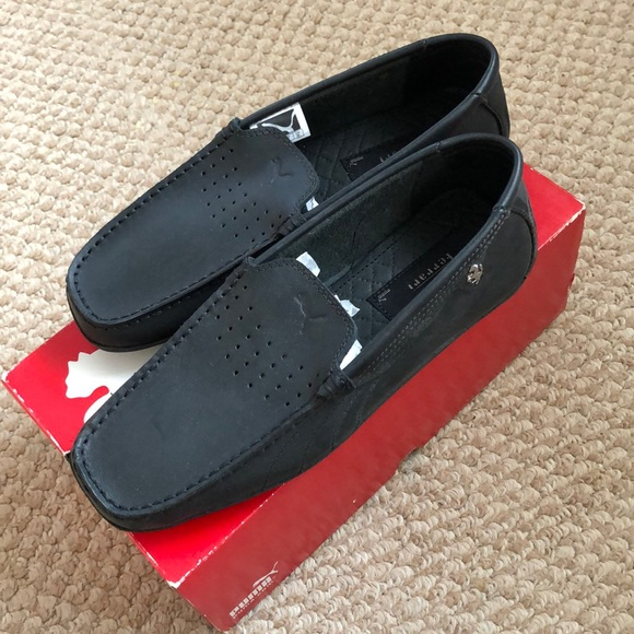 best site detailed images biggest selection Ferrari Loafers Puma leather NWT